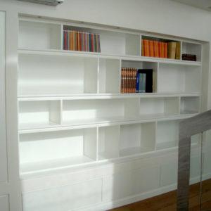 Falegnameria Arrigo | Falegnameria Brescia | Dettaglio Libreria in legno