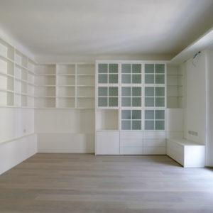 Falegnameria Arrigo | Falegnameria Brescia | Stanza con Libreria in legno